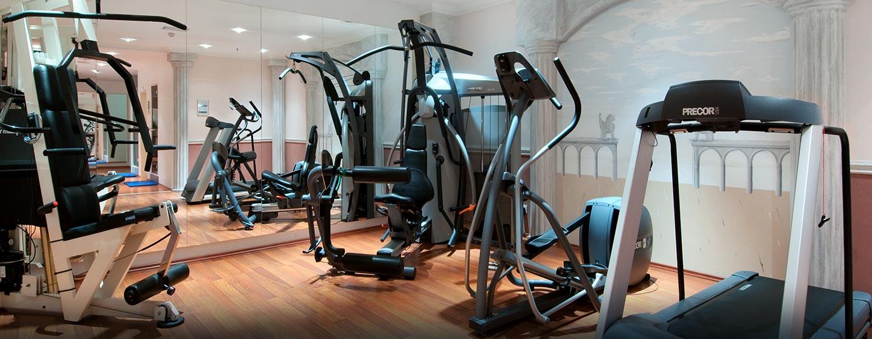Einem ausgewogenem Workout steht im Fitness Center des Hilton Inssbruck nichts im Weg