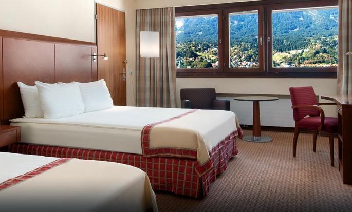 Hotel Hilton Innsbruck, Austria - Camera con letti separati
