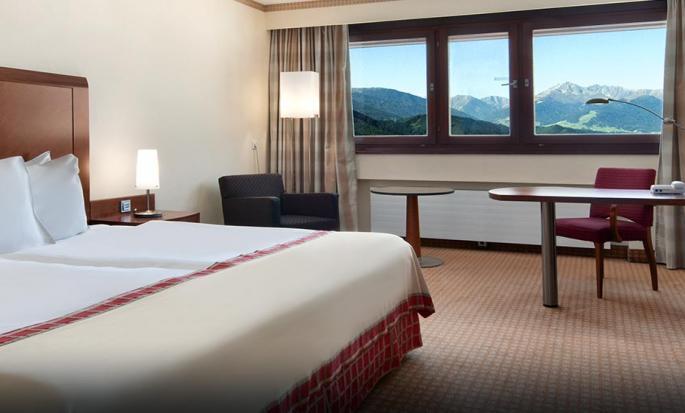 Hotel Hilton Innsbruck, Austria - Camera con letto king size