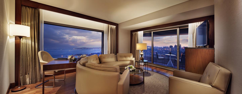 Conrad Istanbul Hotel, Türkei – Bosphorus Suite mit Balkon
