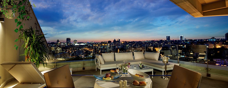 Conrad Istanbul Hotel, Türkei – Dachterrasse