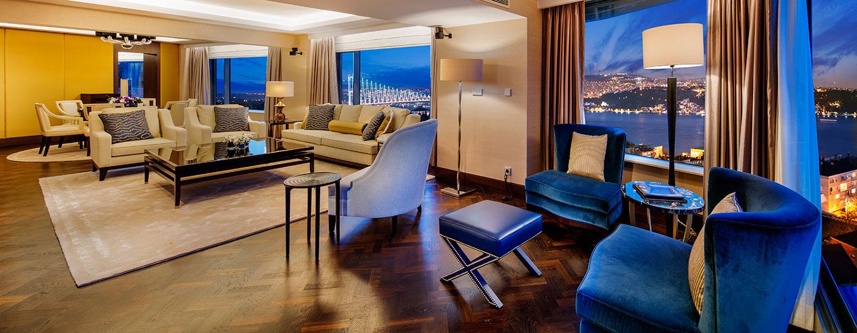 Conrad Istanbul Hotel, Türkei – Ambassador Suite