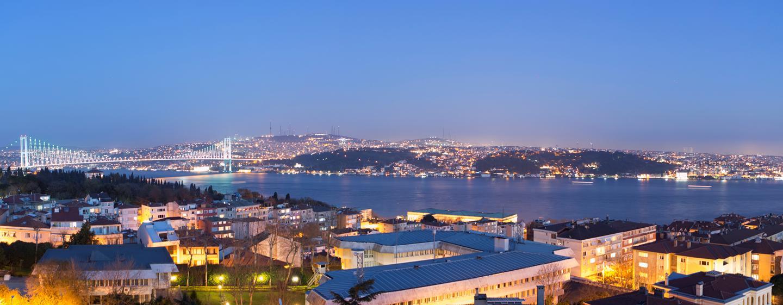 Conrad Istanbul Hotel, Türkei – Summit Bar – Aussicht