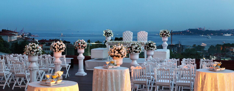 Conrad Istanbul Hotel, Türkei – eine idyllische Hochzeit in Istanbul