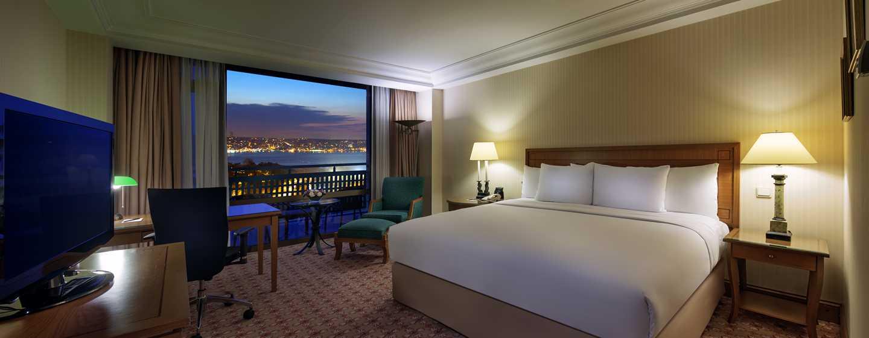 Unsere hellen Zimmer sind mit King-Size-Betten ausgestattet