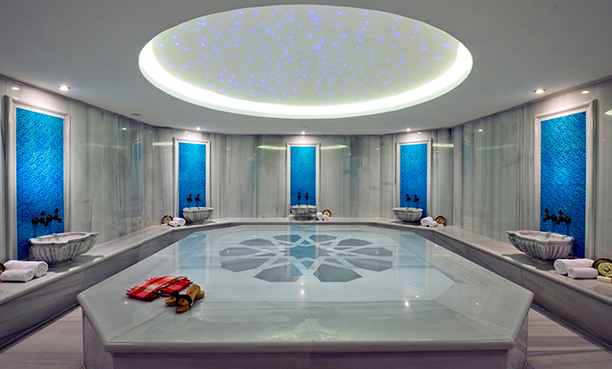 DoubleTree by Hilton Hotel Istanbul - Cidade Velha, Turquia - Banho turco