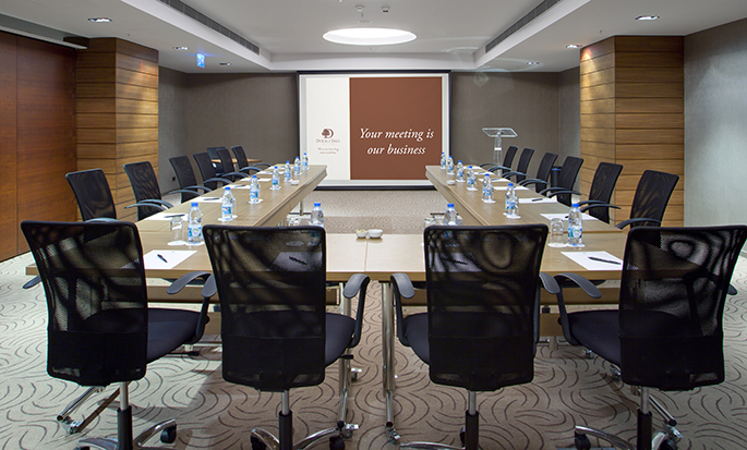 DoubleTree by Hilton Hotel Istanbul - Cidade Velha, Turquia - Sala de reunião