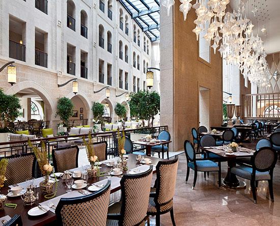 Waldorf Astoria Jerusalem Hotel, Israel – The Palace Restaurant