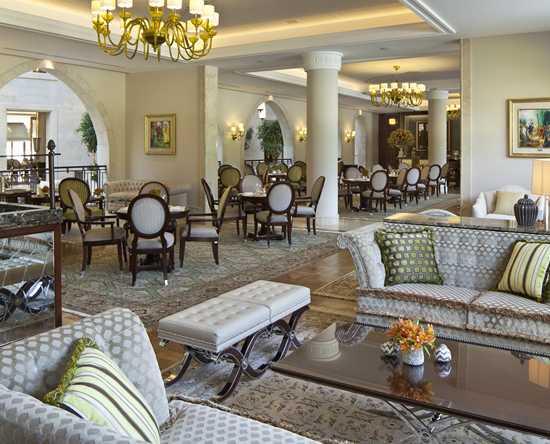 Hôtel Waldorf Astoria Jerusalem, Israël - King's Court
