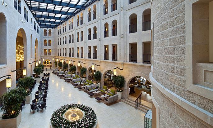 Hôtel Waldorf Astoria Jerusalem, Israël - Hall