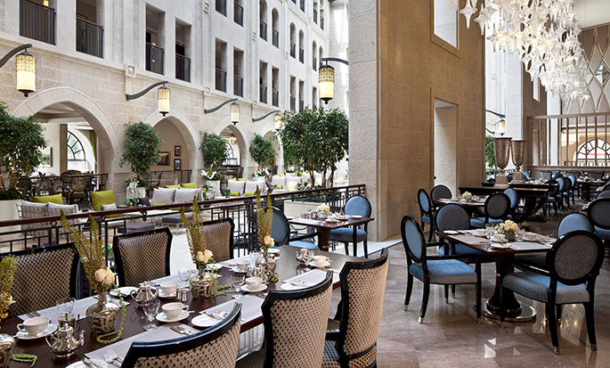 Hôtel Waldorf Astoria Jerusalem, Israël - The Palace Restaurant