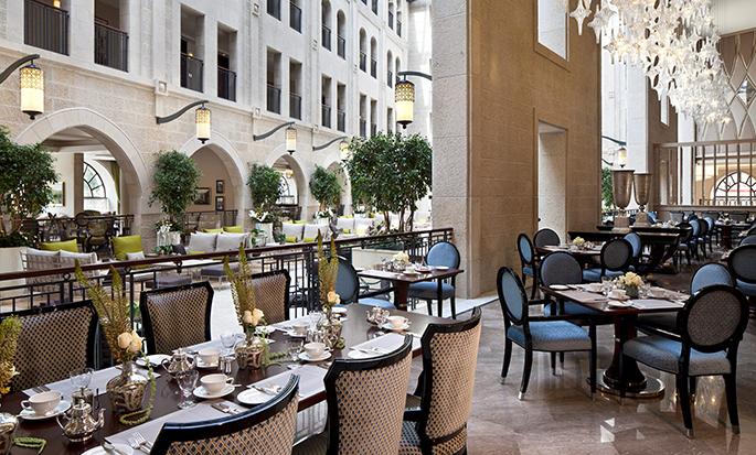 Hôtel Waldorf Astoria Jerusalem, Israël - The Palace Restaurant