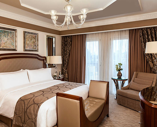Hôtel Waldorf Astoria Jerusalem, Israël - Suite David Tower