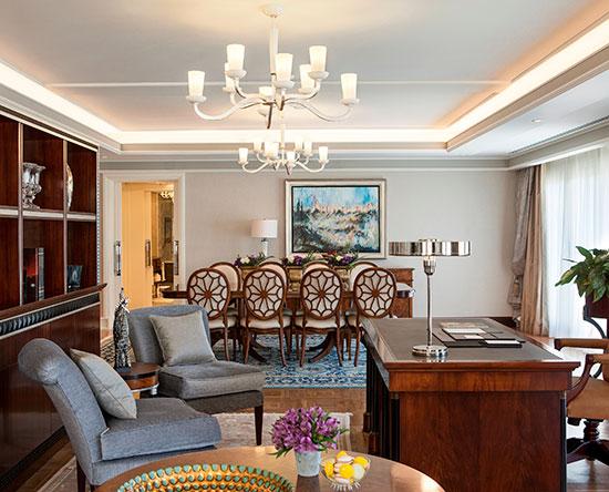 Hôtel Waldorf Astoria Jerusalem, Israël - Suite Palace