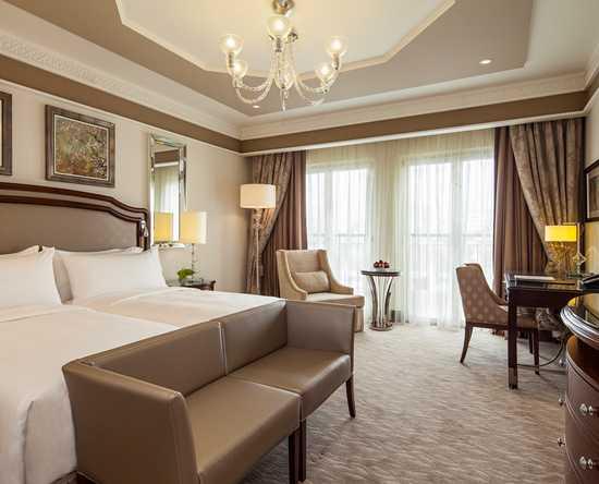 Hôtel Waldorf Astoria Jerusalem, Israël - Chambre de luxe avec lits jumeaux