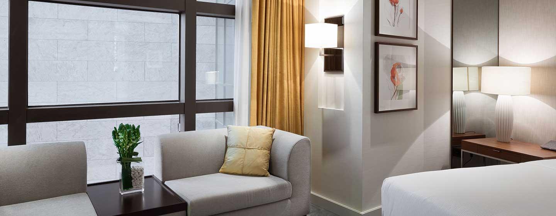 Hotel Hilton Kyiv, Ukraina – Pokój Hilton Deluxe