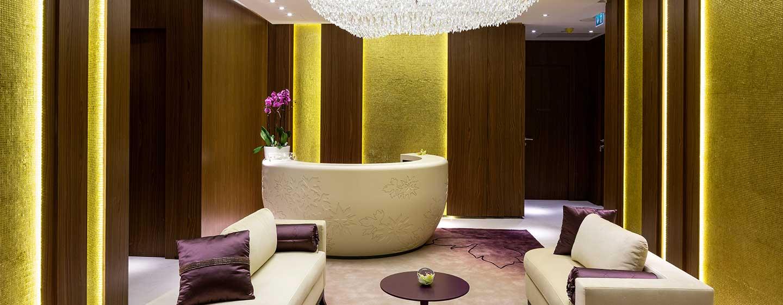 Hotel Hilton Kyiv, Ukraina – Recepcja SPA