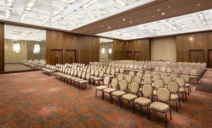 Hotel Hilton Kyiv, Ukraina – Sala balowa Dallas