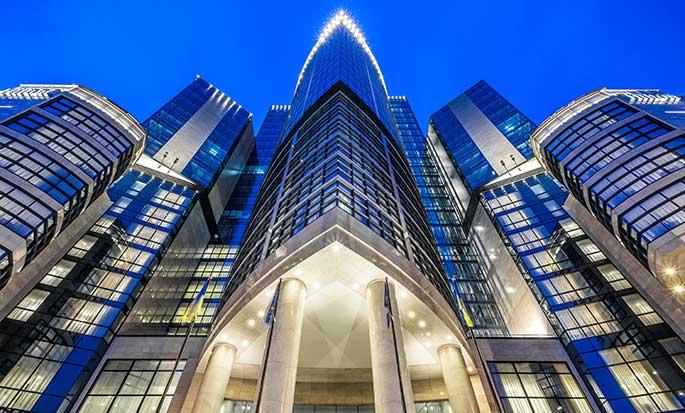 Hotel Hilton Kyiv, Ukraina – Fasada Hilton Kyiv