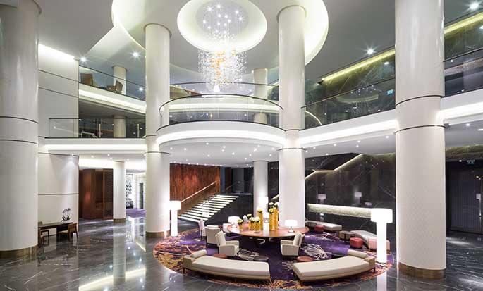 Hotel Hilton Kyiv, Ukraina – Lobby