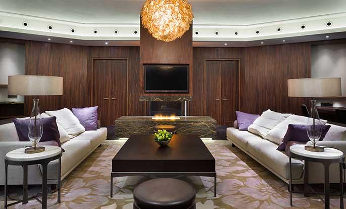 Hilton Kyiv Hotel, Ukraine – Wohnzimmer der Präsidenten Suite