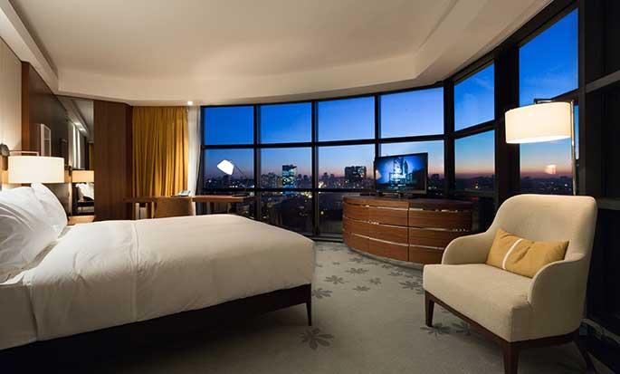Hotel Hilton Kyiv, Ukraina – Pokój dla gości King