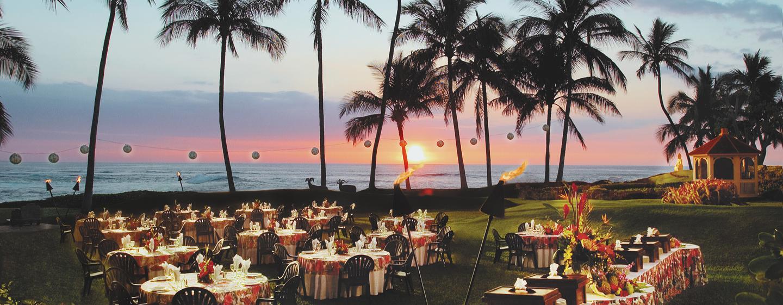Verschiedene Feierlichkeiten und Feste können im Außenbereich des Hotel gefeiert werden