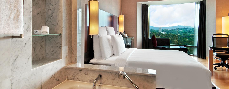 Das Zimmer mit Blick auf den Stadtpark bietet Ihnen Ruhe und Erholung