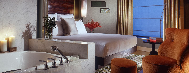 Erfrischen Sie sich im luxeriösen Badezimmer der Grand Executive Suite