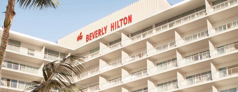 Herzlich willkommen im The Beverly Hilton unweit vom Rodeo Drive
