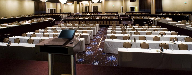 In den großen Ballsaal können Sie bis zu 1.300 Gäste zu einem Event einladen