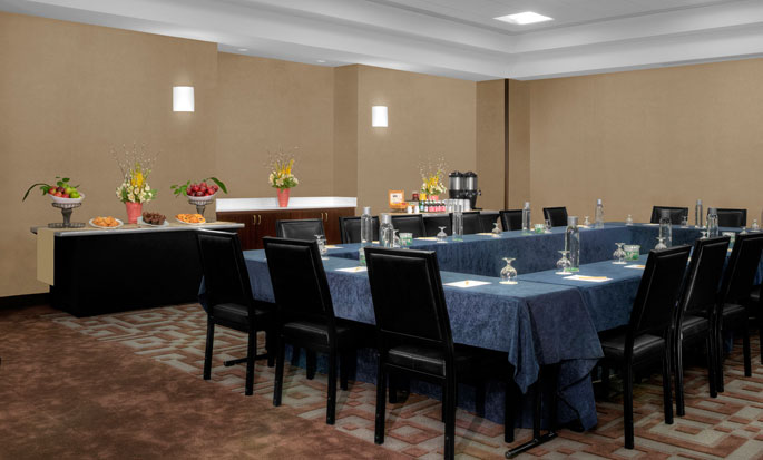 Hotel DoubleTree Suites by Hilton New York City - Times Square - Nueva York, NY - Salón Hudson