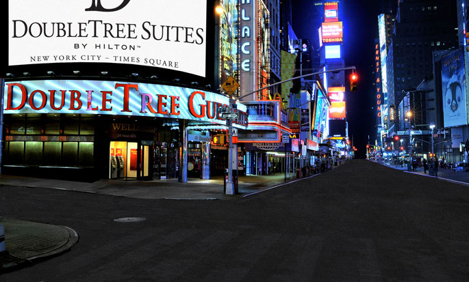 Hotel DoubleTree Suites by Hilton New York City - Times Square - Nueva York, NY - Entrada del hotel