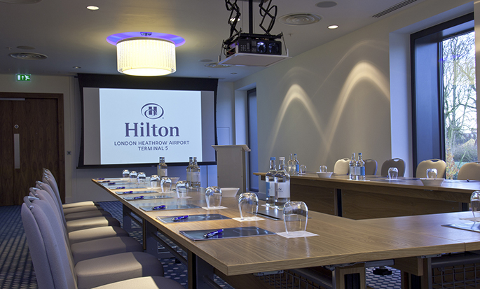 Hilton London Heathrow Airport Terminal 5 - Meeting Room