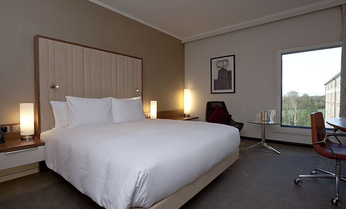 Hilton London Heathrow Airport Terminal 5 - King Room