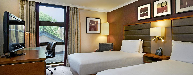 Hotel Hilton London Kensington, Regno Unito - Camera Deluxe con letti separati