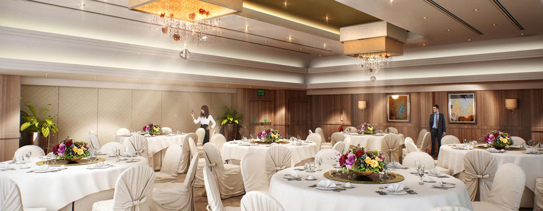Hotel Hilton London Kensington, Regno Unito - Cena di gala nella Suite Christie
