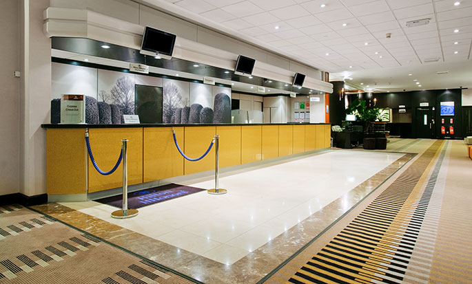 Hotell Hilton London Kensington, Storbritannia – Hilton London Kensington lobby