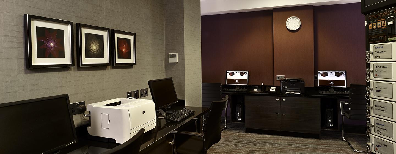 Das Business Center im Hotel lässt Sie Geschäftliches unkompliziert erledigen