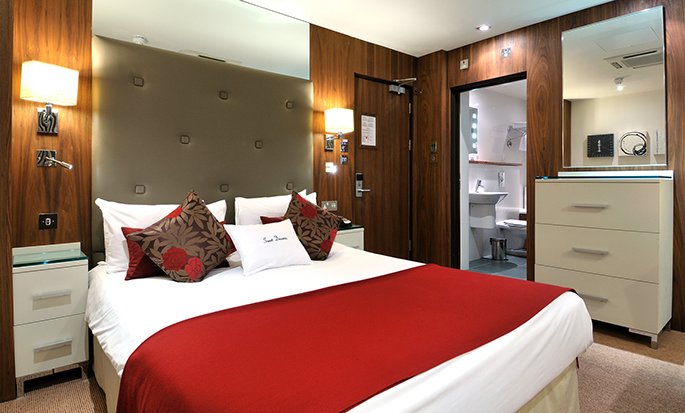 Doubletree by Hilton London - West End, GB - Tweepersoons Deluxe kamer