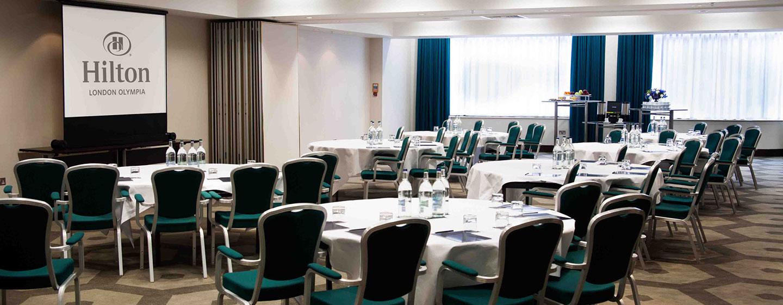 Hotel Hilton London Olympia, Regno Unito - Sala meeting Pembroke