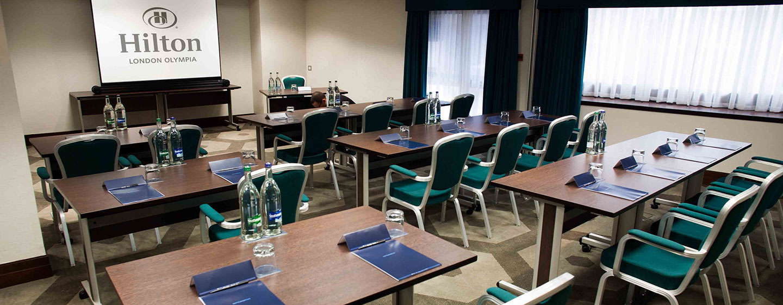 Hotel Hilton London Olympia, Regno Unito - Sala meeting Warwick