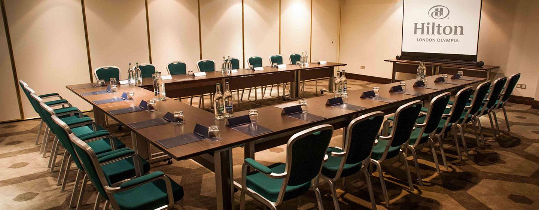 Hotel Hilton London Olympia, Regno Unito - Sala meeting Bedford