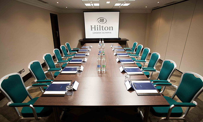 Hotel Hilton London Olympia, Regno Unito - Sala Meeting Broadway