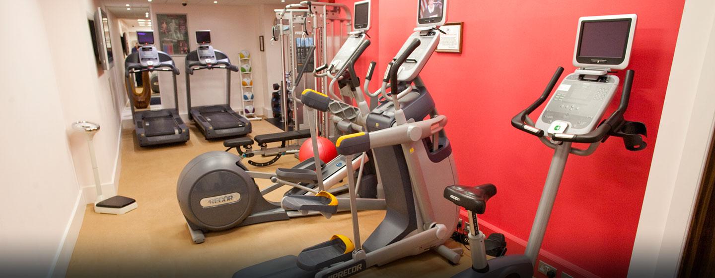 Ihrem Training können Sie im hoteleigenen Fitness Center nachgehen