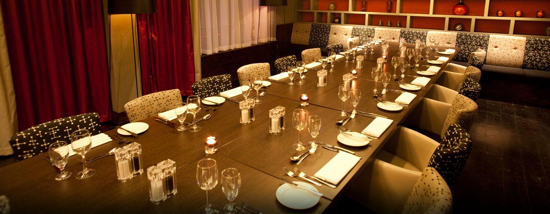 Ihre Feier mit bis zu 200 Gästen können Sie im Restaurant des Hotels organisieren