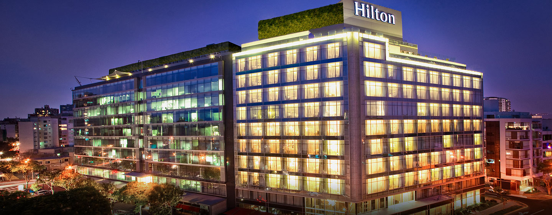 Hilton Lima Miraflores, Perú - Fachada del hotel