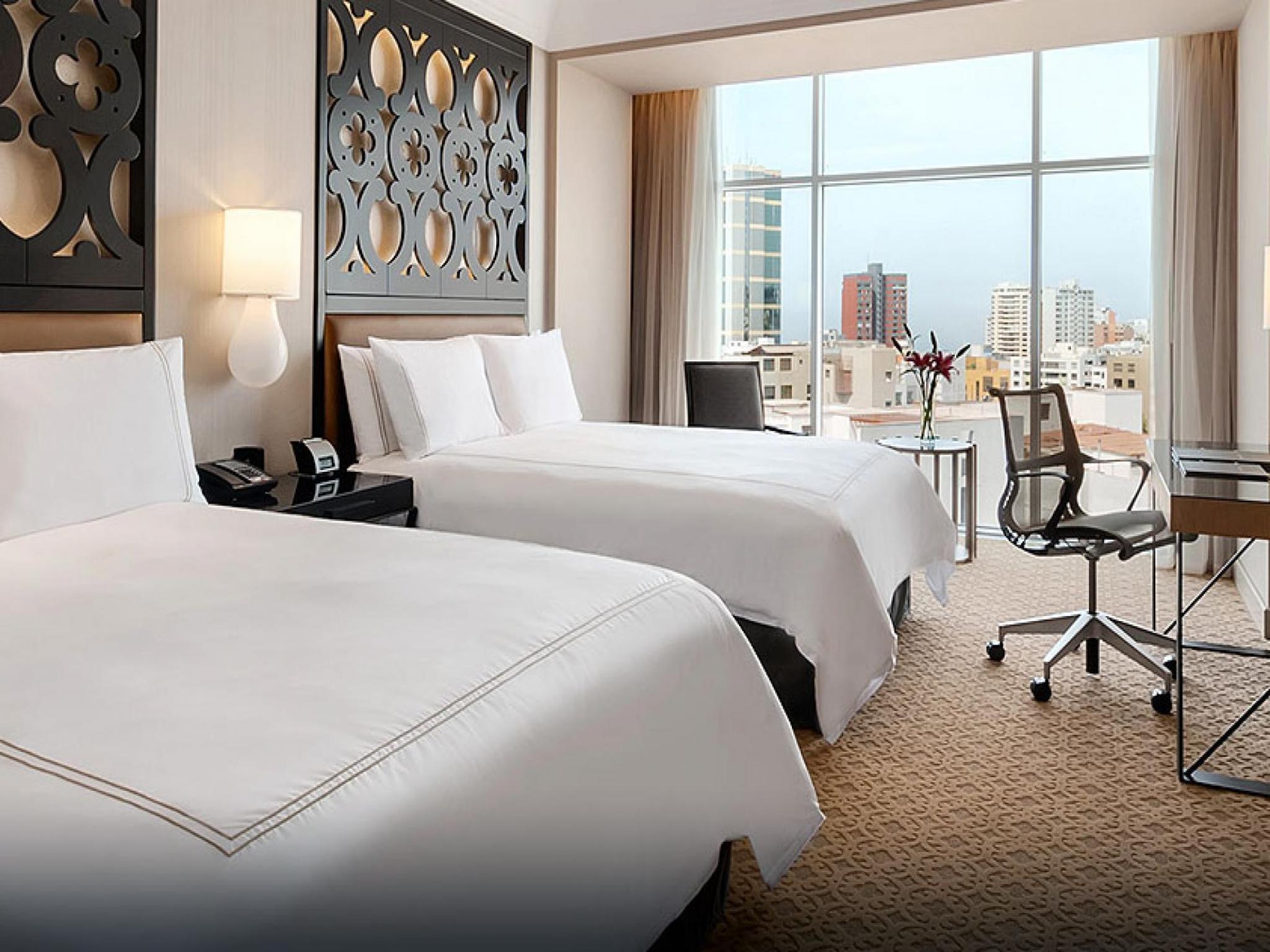 Hotel en lima per hilton lima miraflores hilton lac Hoteles con habitaciones en el agua