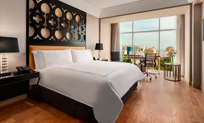Hilton Lima Miraflores, Perú - Habitación ejecutiva con cama King