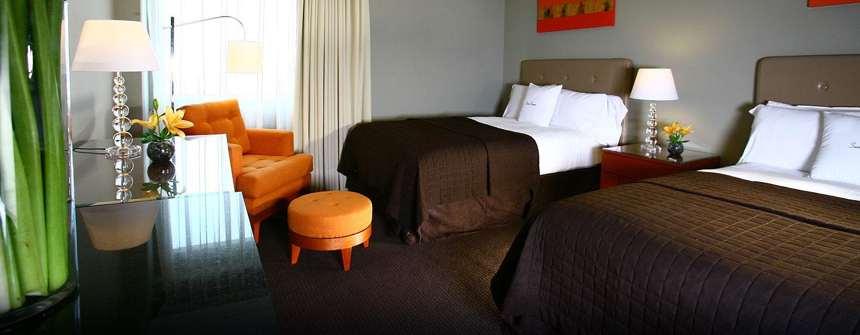 Hotel El Pardo DoubleTree by Hilton, Lima, Perú - Habitación doble